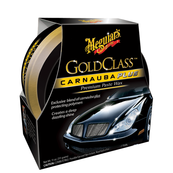 Meguiars Gold Class™ Carnauba plus Paste Wax